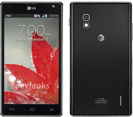 LG Optimus G E970 Specifications