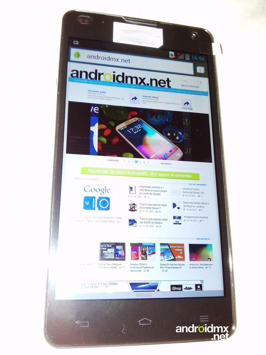 LG Optimus G E973 leaked images