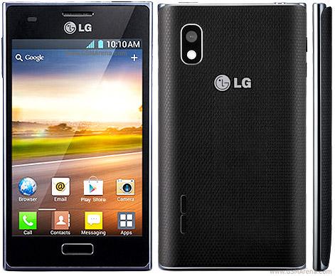 LG Optimus L5 E610 pictures  official photos