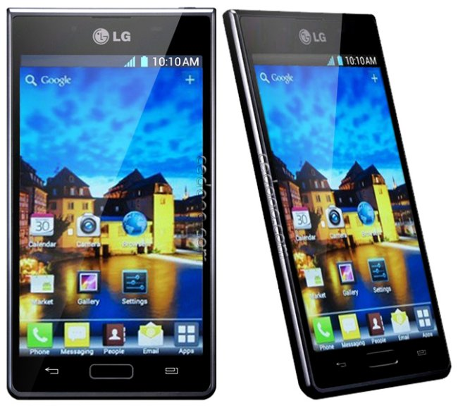 LG Optimus L7 P700 phone photo gallery  official photos