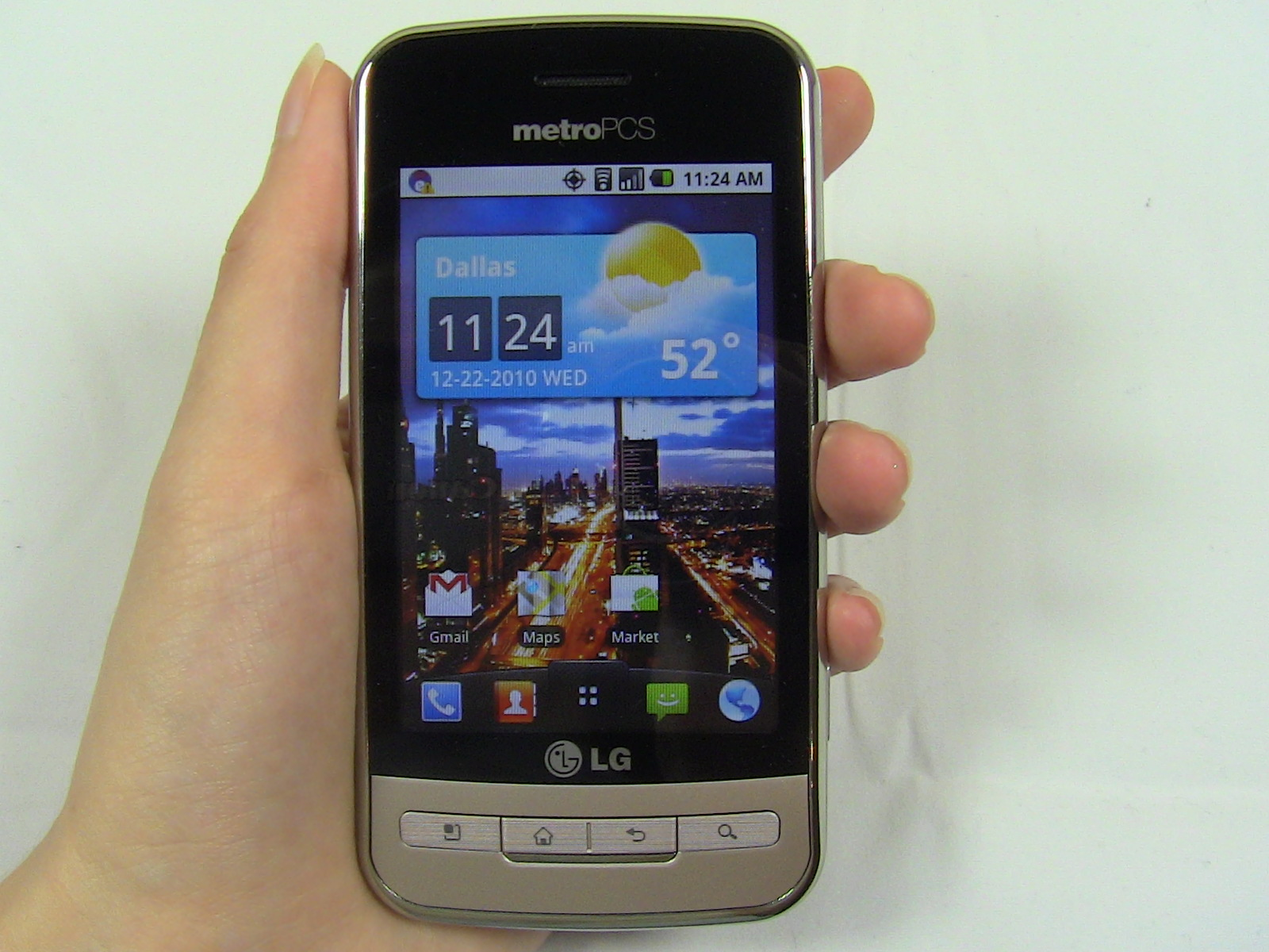 LG Optimus M Review  Sydneys First Impressions   PhoneDog
