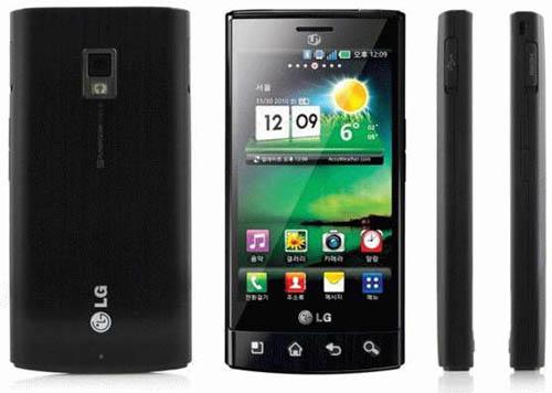 LG Optimus Mach LU3000 Fastest Smartphone   Mobile Phone Reviews