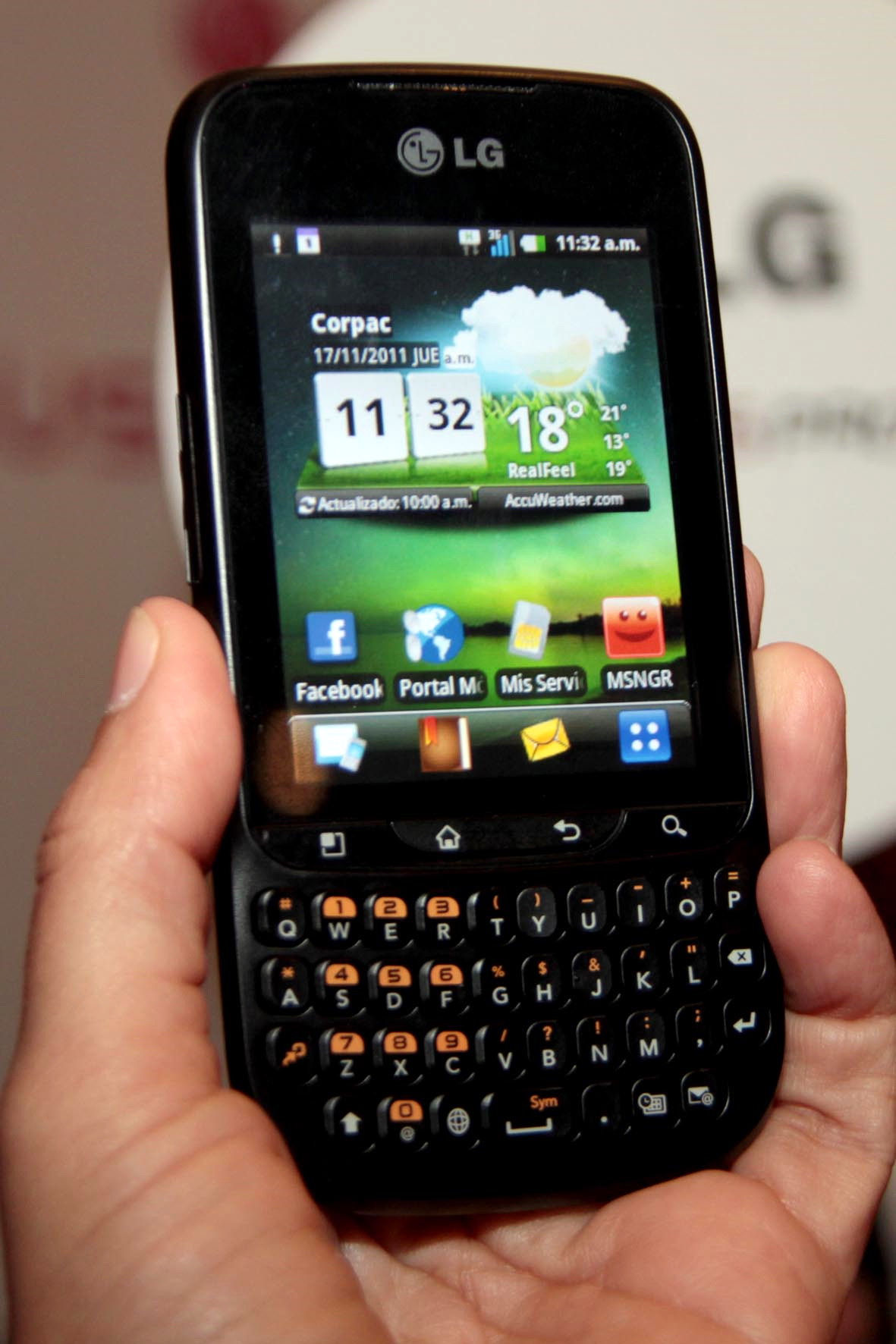 LG MOBILE PHONE  LG Optimus Pro C660