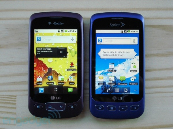 LG Optimus T and Optimus S review
