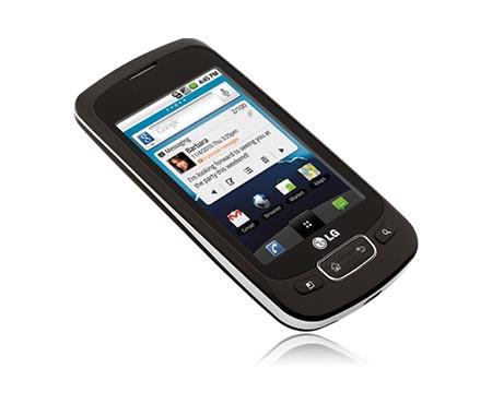 LG Optimus T P509 Black  Android Smartphone   LG USA