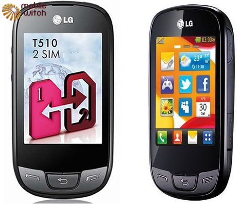 LG T510 pictures  official photos   MobileWitch