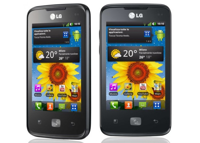 LG Univa E510     successor to the Optimus One