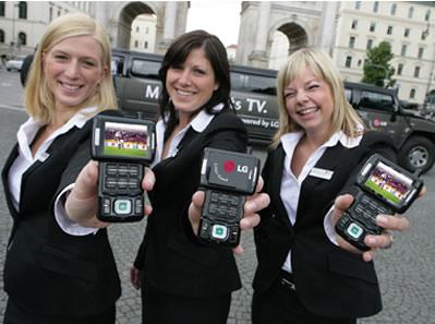3G Mobile LG V9000 Debuts for Trial