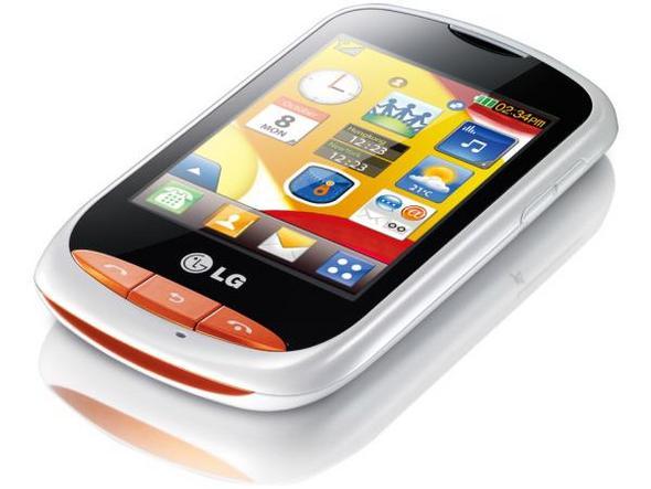 LG T310 Wink Style     recenze dotykov  ho obl  zku pro teenagery