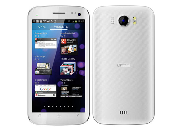 Micromax A110  Ninja 4 0   with Ice cream Sandwhich OS