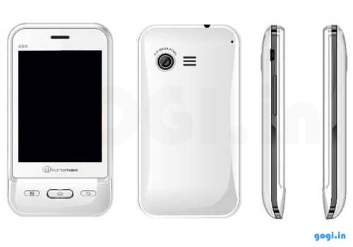 Micromax A50  ninja  dual SIM Superphone features and price