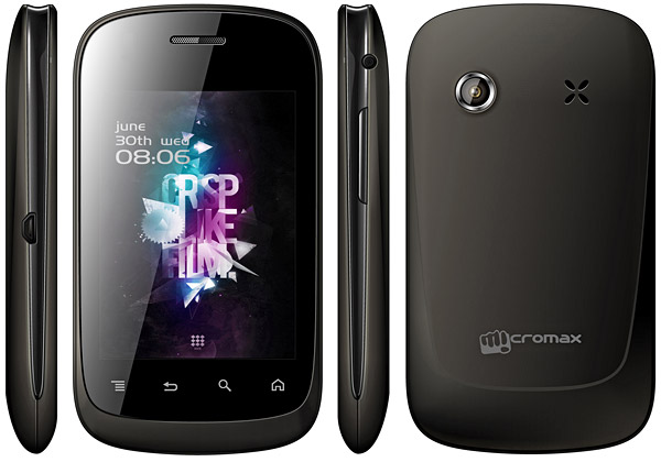 Micromax A52 pictures  official photos