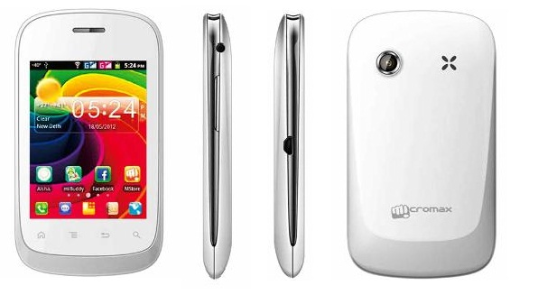 Micromax A52 debuts with 1GHz processor  priced at INR 5 990
