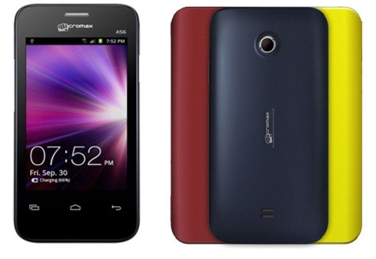 Micromax A56 Price in India as on 7 October 2013  Reviews