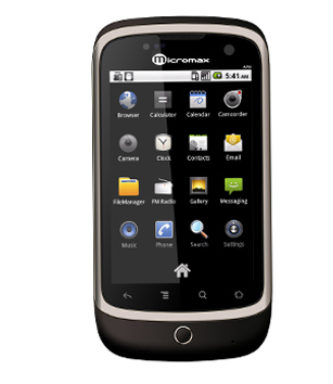 Micromax A70   3G Android 2 2  Froyo  Mobile Phone