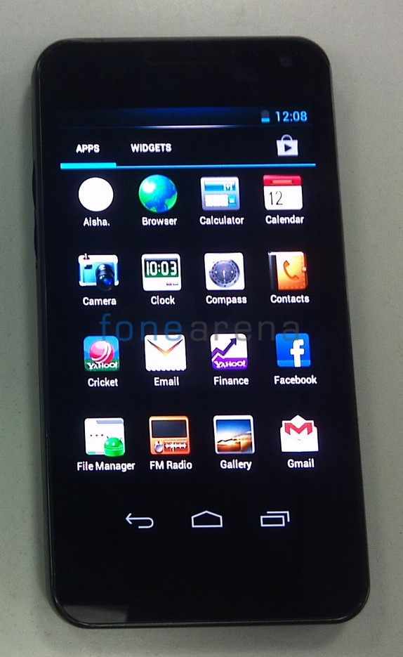 Exclusive   Dual SIM Micromax A90 with ICS and Super AMOLED