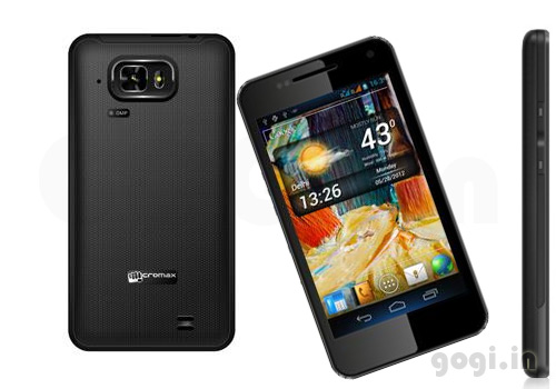 Micromax A90 is with single core processor  dual core to launch in