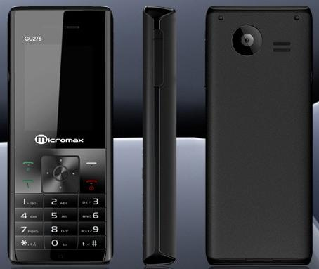 Micromax GC275 Price  Specifications and Features   MobilePhone