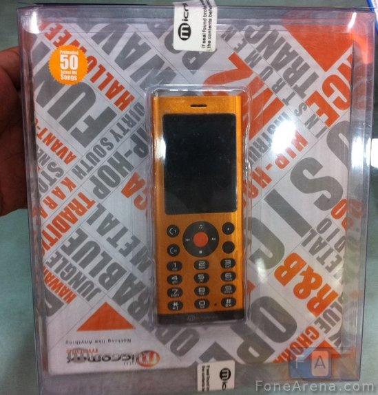Micromax M2 Dual SIM Music Phone