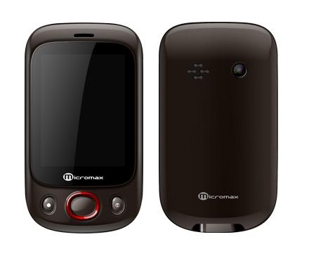Micromax X222     Budget Dual SIM Touch phone