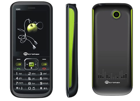 Micromax X265 phone photo gallery  official photos