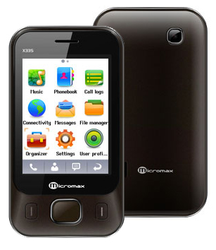 Micromax X335 Price in India Specifications