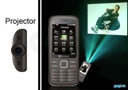 Micromax X40 projector phone now available  features and price in