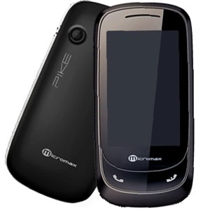 Micromax X510 Pike with 5 Color back panels