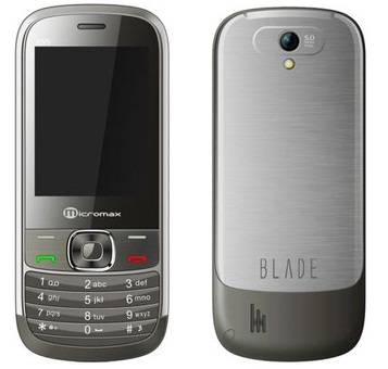 Micromax X55 Blade Price in India