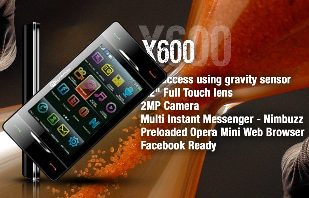 Micromax X600     Rotate Phone to Change SIM