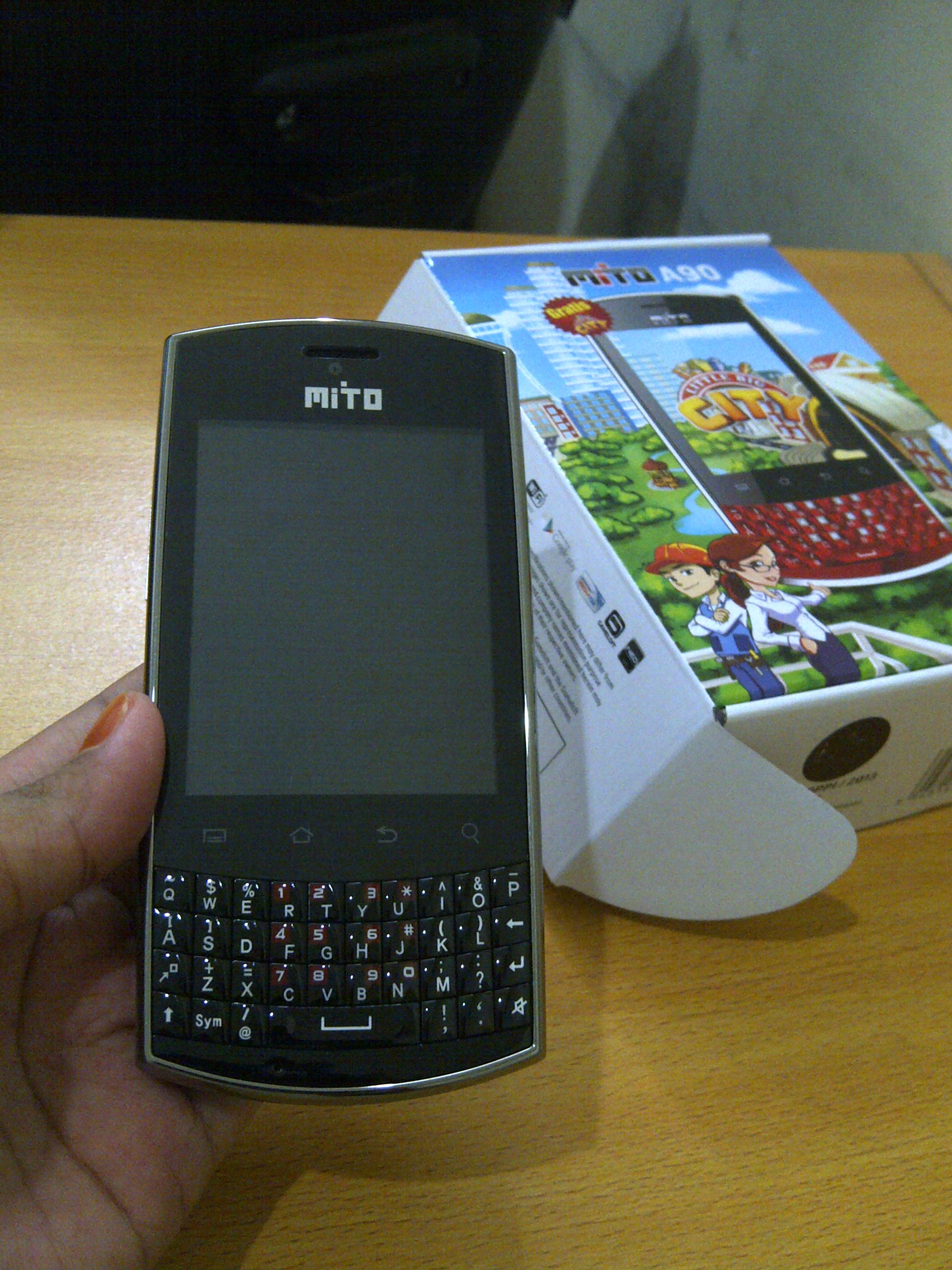 waiting lounge  Mito A90 android qwerty dual core plus TV   Kaskus