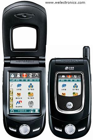 Motorola A768i A 768i 768   Linux Os Based Triband Gsm Phone