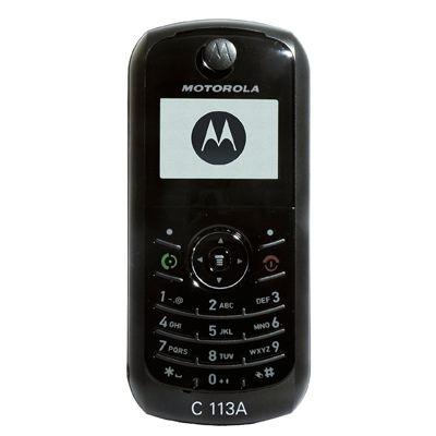Motorola C113a phone photo gallery  official photos