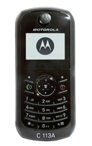 Motorola C113a Specifications