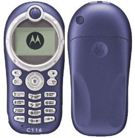 Motorola C116 phone photo gallery  official photos