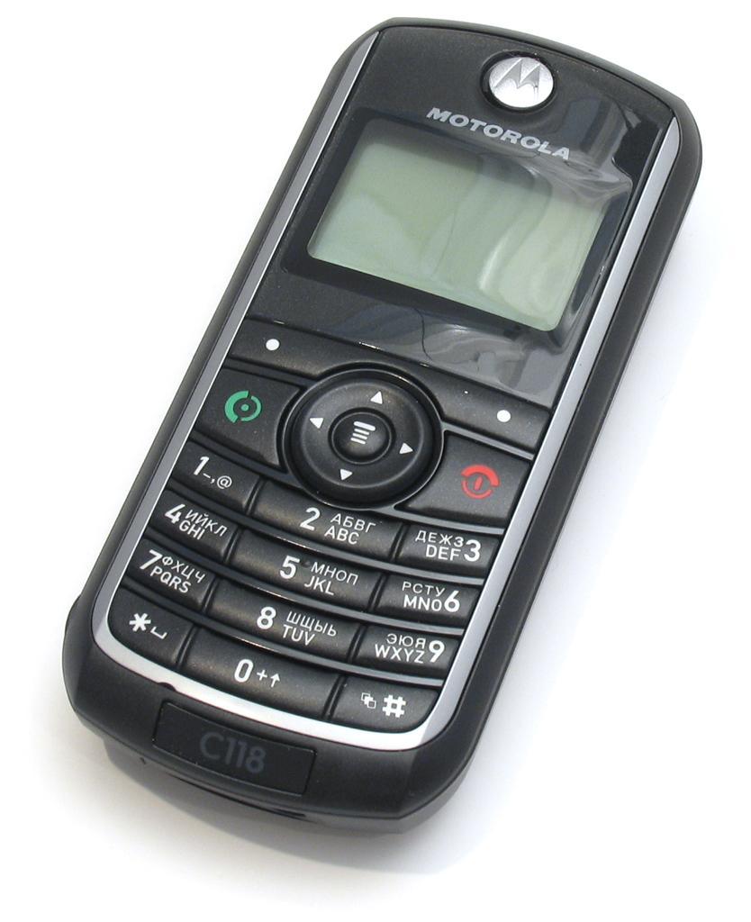 Motorola C118                Motorola C118