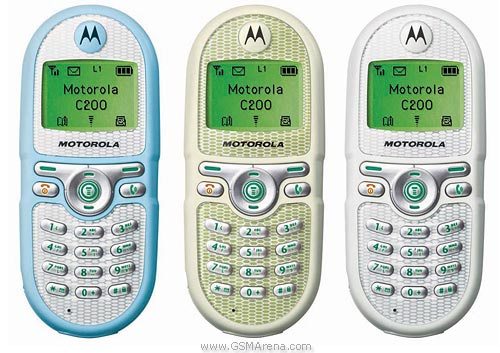 Motorola C200 pictures  official photos
