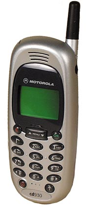 Motorola cd930 phone photo gallery  official photos