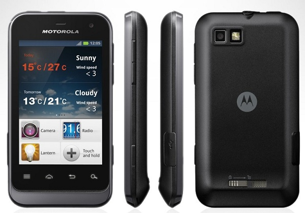 Motorola Defy Mini XT321 Specifications
