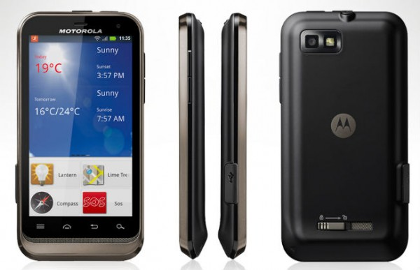 Review Smartphone Motorola Devy XT535 Android