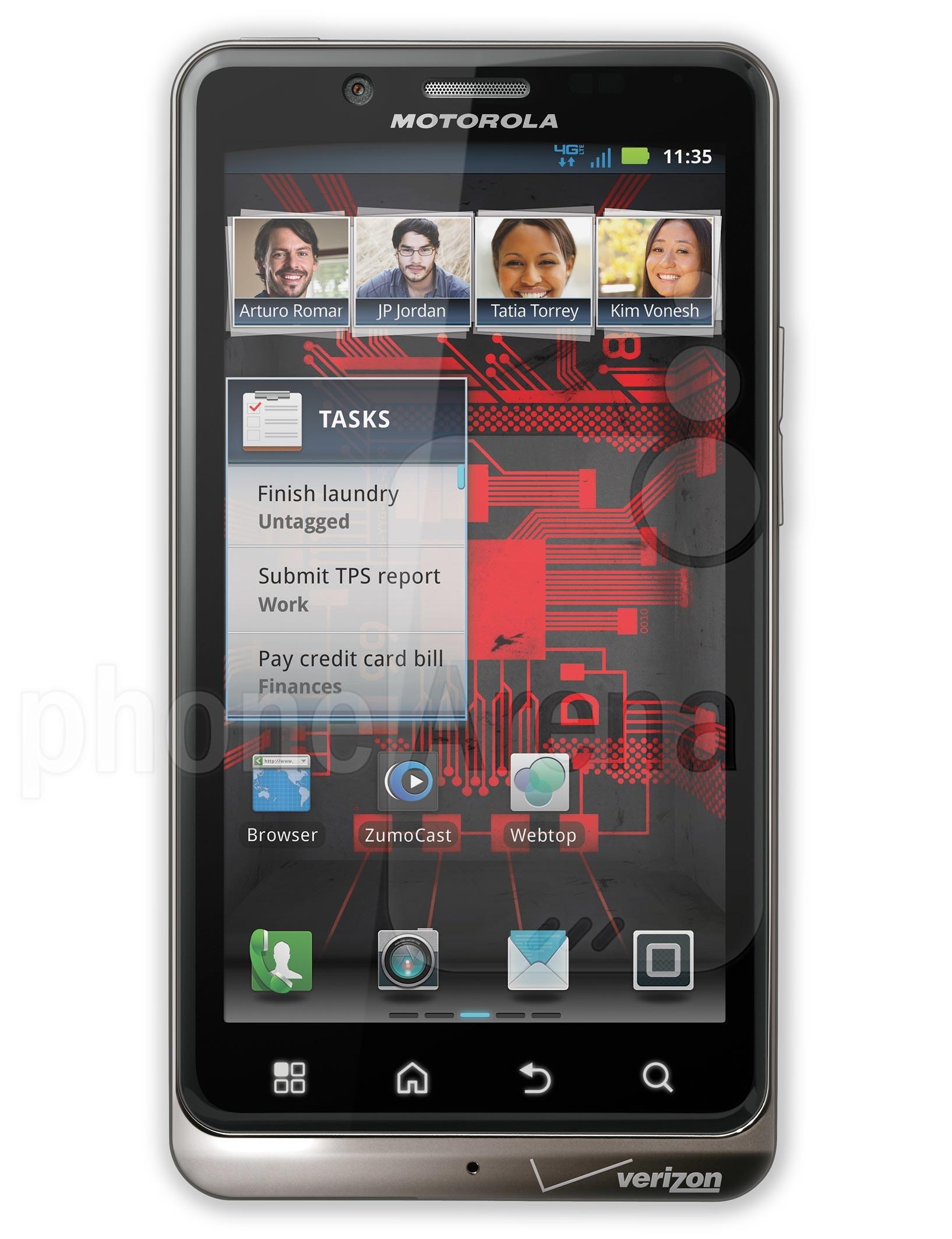 Motorola DROID BIONIC specs
