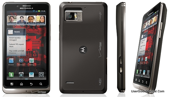 Motorola Droid Bionic User Manual  XT865 Quick Start Guide for