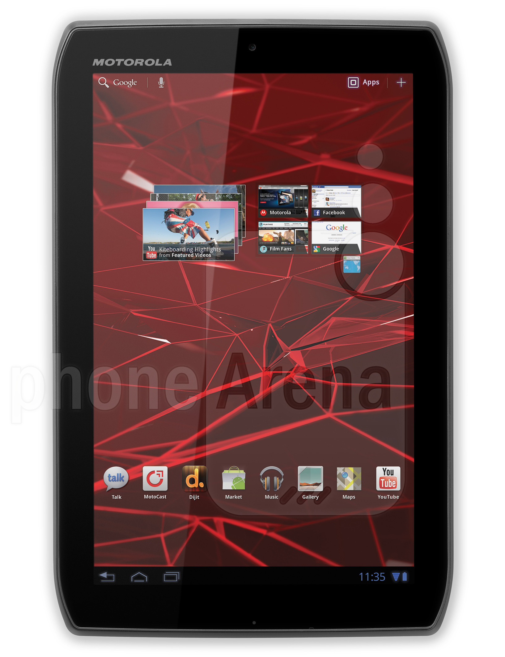 Motorola DROID XYBOARD 8 2 specs