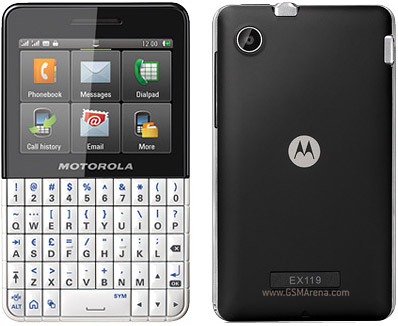 Motorola EX119 pictures  official photos