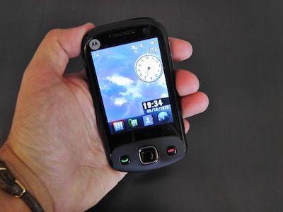 Motorola EX300   In Prova   Il nostro test   Telefonino