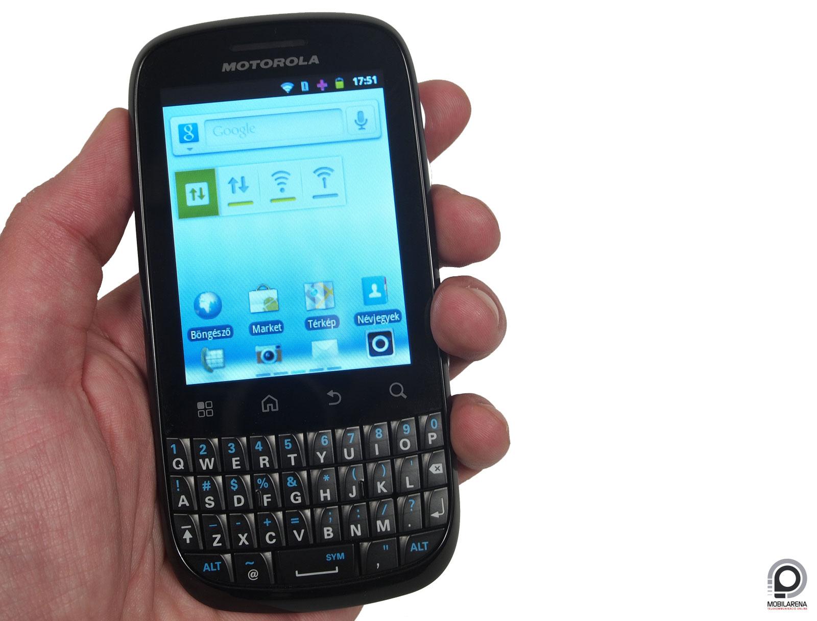 Motorola Fire XT311   nem hoz t  zbe   Mobilarena Okostelefon teszt
