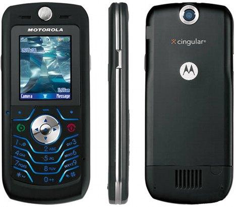 Motorola l6  l6 att cell phone