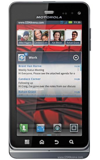 Motorola MILESTONE 3 XT860 pictures  official photos