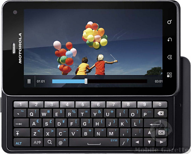 Motorola XT883  Motorola Milestone 3   DROID 3    Mobile Gazette