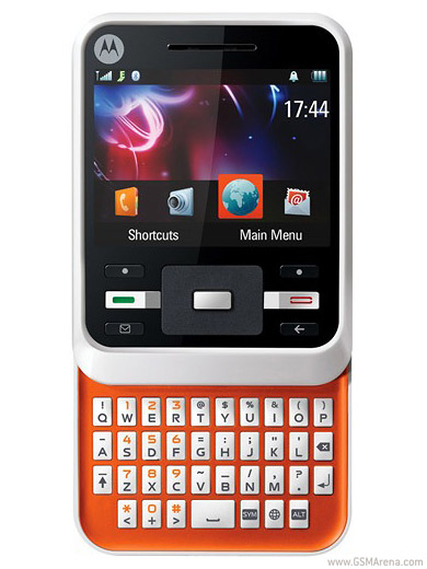 Motorola Motocubo A45   Full phone specifications